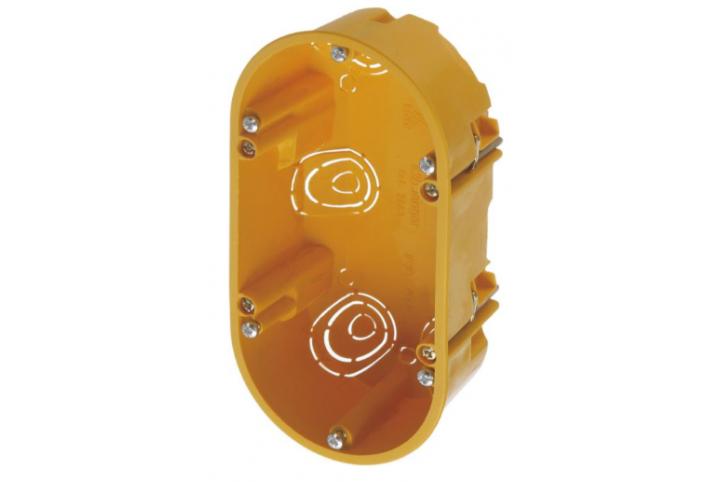 Zennio Boîte de mécanisme double pour Z70 9900011