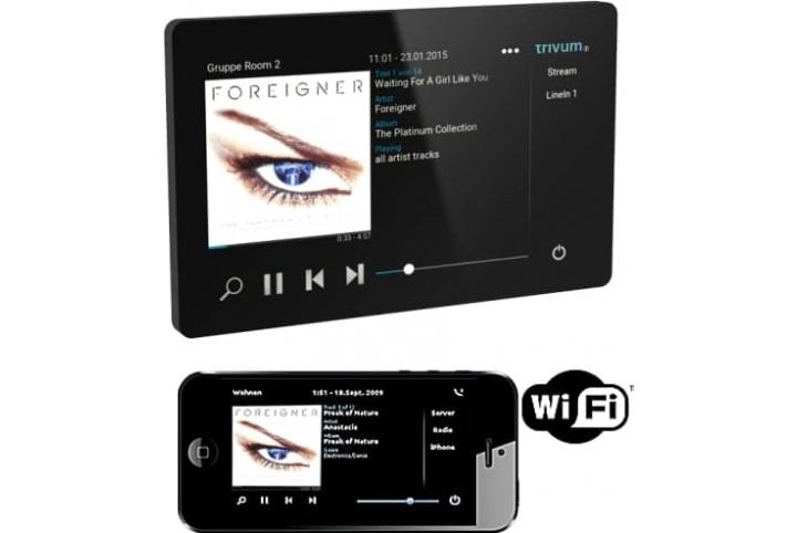 """Trivum Touchpad, écran tactile couleur 7"""" - avec application Smartphone TouchPad 7"""