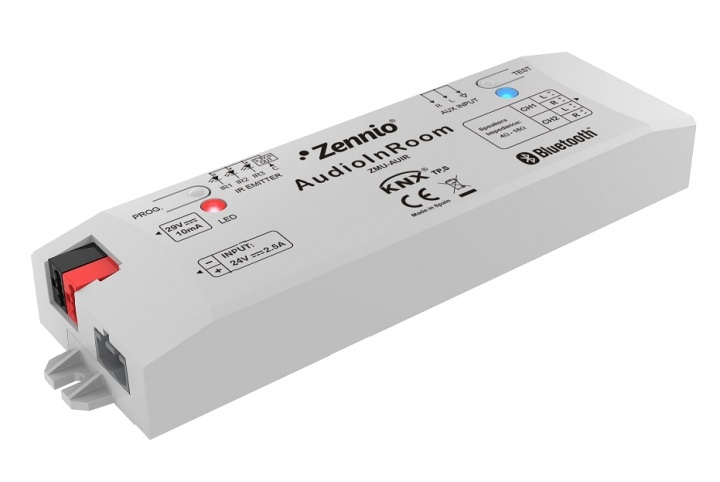 Zennio AudioInRoom Système  audio KNX