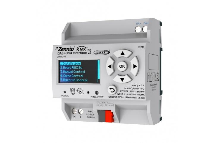 Zennio DALIBOX Interface 64/32 ZDIDLIV2