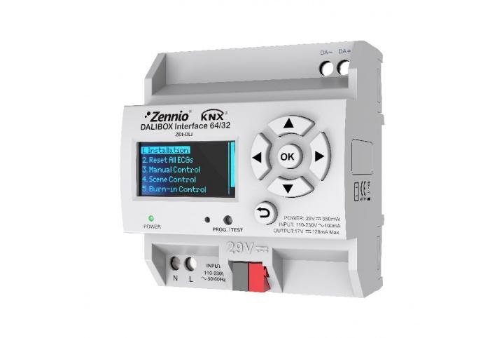 Zennio DALIBOX Interface 64/32 ZDI-DLI