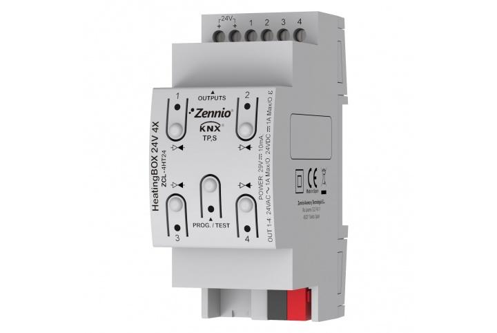 Zennio HeatingBOX 24V 4X Actionneur de chauffage ZCL-4HT24
