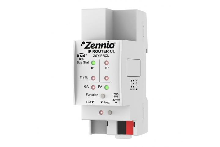 Zennio Routeur KNX-IP ZSYIPRCL