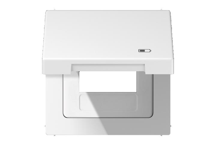 JUNG Enjoliveur couvercle pour chargeur USB 15 CA