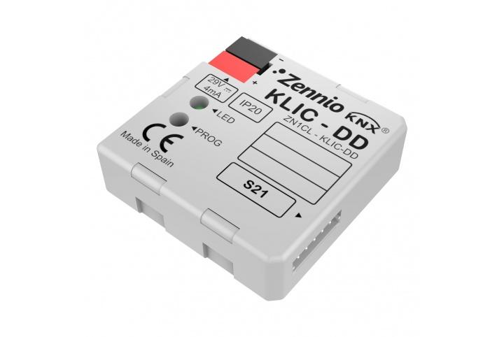 Zennio KLIC-DD contrôle de climatiseur Daikin KNX (Gamme Résidentielle) ZN1CL-KLIC-DD