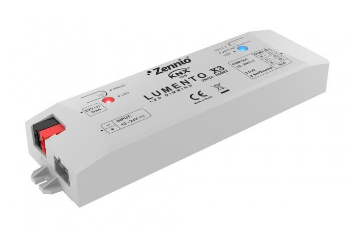Zennio LUMENTO x3 ZN1DI-RGBX3