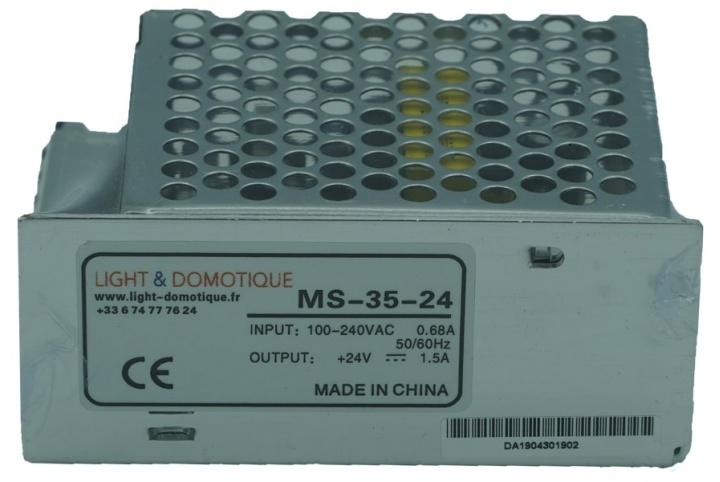 L&D Alimentation 24V DC 35W 1.5A MS-35-24