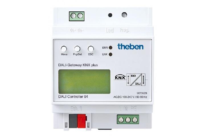 Theben Passerelle DALI-Gateway KNX plus 9070929